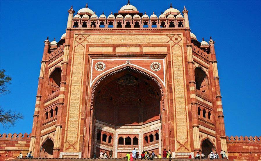 Fatehpur Sikri-Buland Darwaza-10