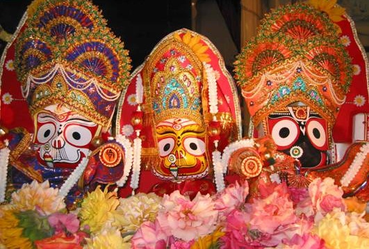 Puri chariot festival, Indian festivals, Jagannath idol