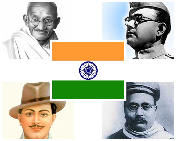 Indian Independence Movement, freedom fighters of india, freedom struggle of India, Independence day celebration