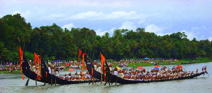 Vallamkali snack boat race festivals in kerala, cheap flights to India