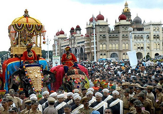 Dussehra in Mysore, mysore palace, festivals of India