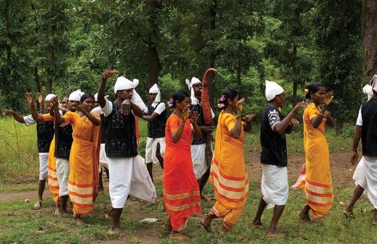 Tarpa festival of Dadra, Tarpa dance of tribals, winter festivals of India in December
