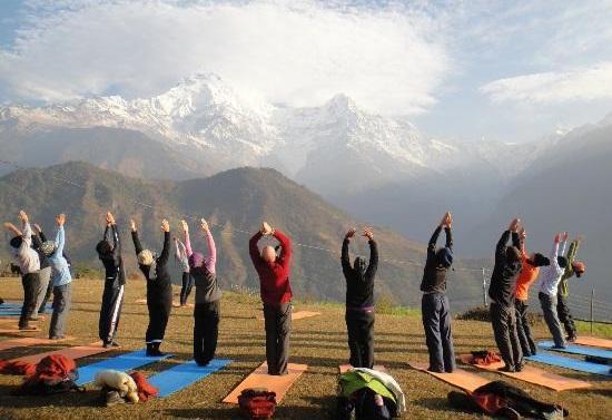 international yoga week festival in rishikesh India, yoga classes in India