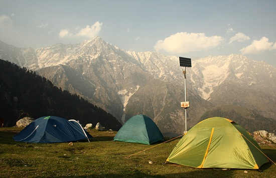 camping in dharamsala, best himalayan camping sites, summer tourist destinations in himachal