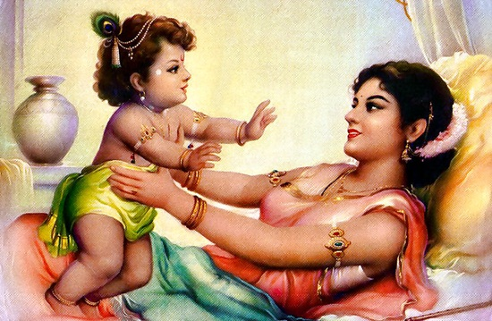stories of yashoda & krishna, mothers of India, spiritual mothers