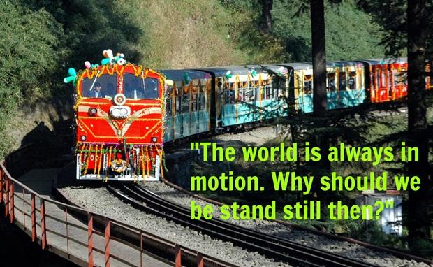 Bhagavad Gita lessons, Best travel quotes