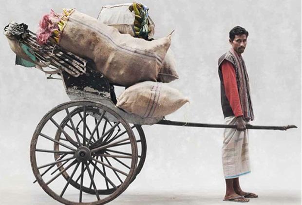 A day of hand-pulled rickshawwallah in Kolkata