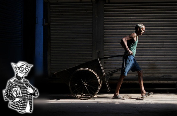 common man photography, working class of India, stories of common man