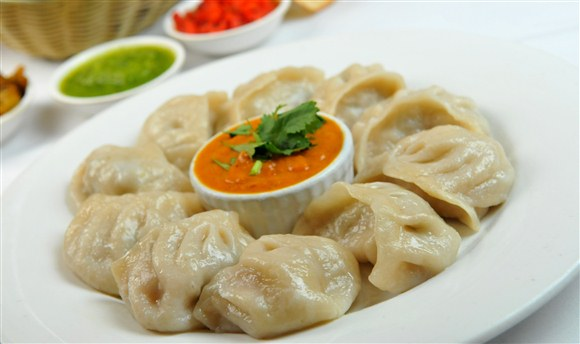 monsoon food culture of India, momos in northeast india