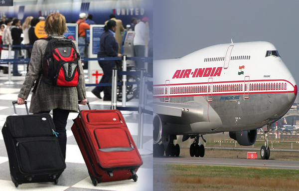 What is Air India's Free Baggage Allowance from US to India?
