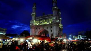 A Walk around Charminar on Ramzan Nights in Hyderabad City