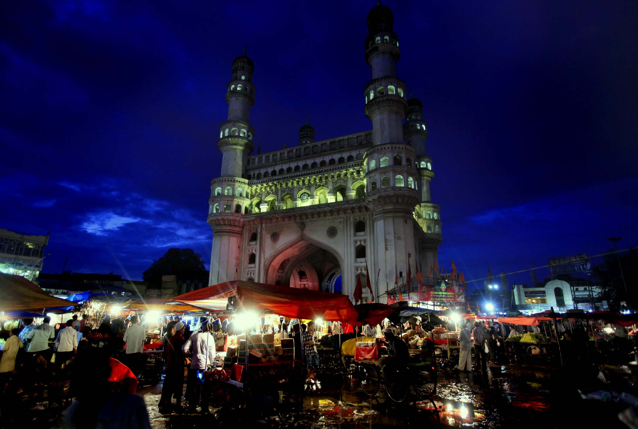 A Walk in Ramzan Night Bazaar around Charminar