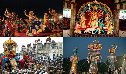 7 Best Places in India where You can Celebrate Navratri and Dussehra as Indians Do