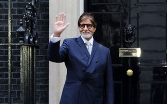 Britain honors Amitabh Bachchan with Global Diversity Award