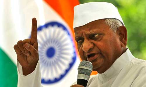 anna hazare fight against corruption Digvijay singh then suggested that anna hazare should fight elections  there  was even a tame protest by various political parties against the.