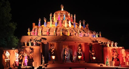 India's Most Celebrated Music and Dance Festivals at Cave Shrines, Seaside Temples, Historical Ruins