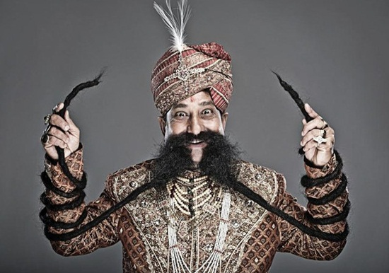 Visit Rajasthan to see the man with the world's longest moustache