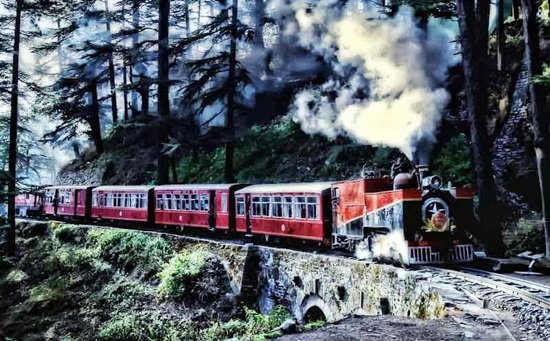 kalka shimla railway details, most beautiful mountain journeys in India, Indian railway tracks