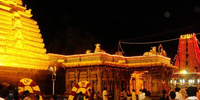 hindu temples in Andhra Pradesh, Mallikarjuna Swamy temple Srisailam