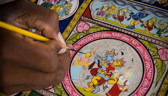 Raghurajpur, a must-visit handicraft village in Orissa