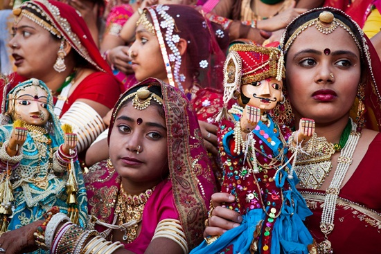 Gangaur festival ceremonies, festivals of Rajasthan, Gangaur in Jaipur