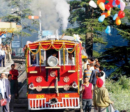 Kalka Shimla Heritage Track Gets Historic Steam Engine Back to Life