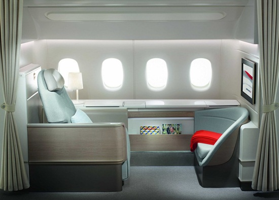 air france  cheap flights, air france la premiere suite, first class suite of air france, Indian Eagle travel blog