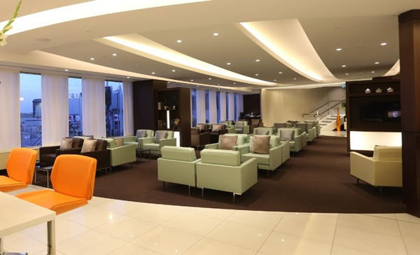 New Etihad Lounge at Sydney Airport