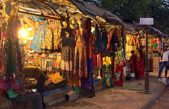 Gujarat Handicraft Textile Shopping At Law Garden Night Market