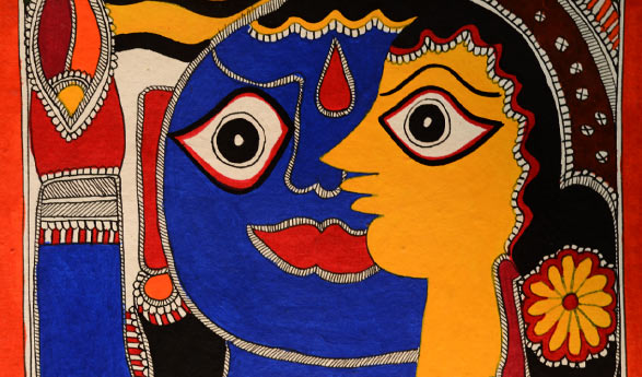 A Sneak Peek into Evolution of India's Madhubani Painting from Folk Tradition to International Profession
