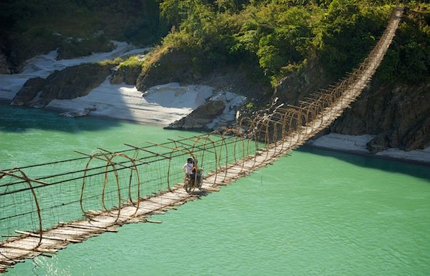 Arunachal Pradesh travel stories, hanging bridges in India