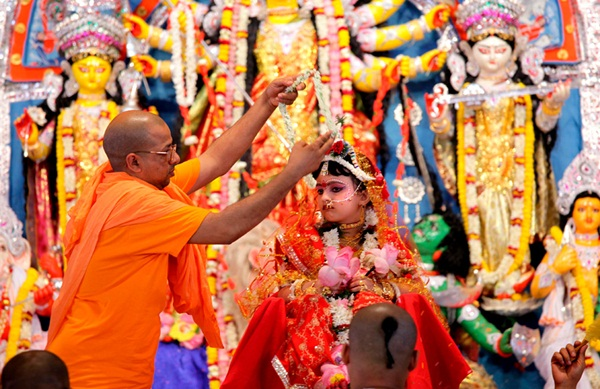 Kumari Puja in Bengal is a Divine Act and a Spiritual Pursuit