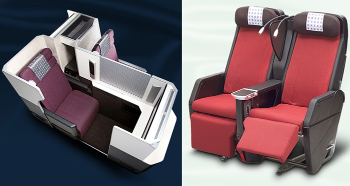Japan Airlines: New cabin design for B787-8 Dreamliner