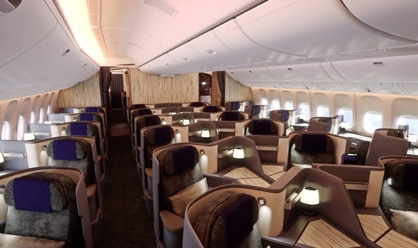 A walk through china airlines 39 new boeing 777 300er - China southern airlines hong kong office ...