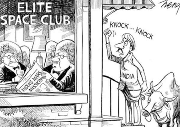 New York Times cartoon on India's Mars mission, stories of rural India, Indian Eagle travel blog