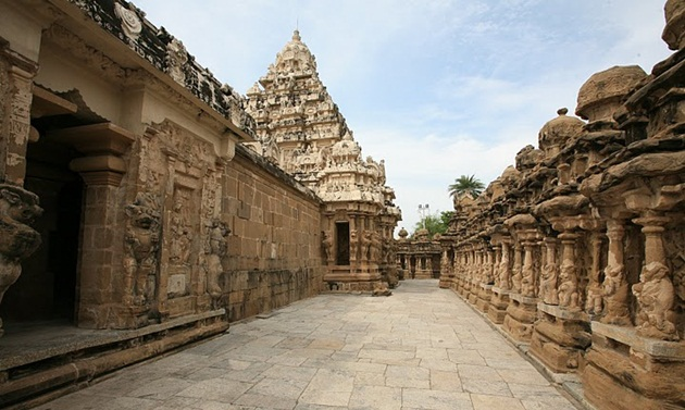Kanchi temples, South Indian temples, Tamil Nadu,