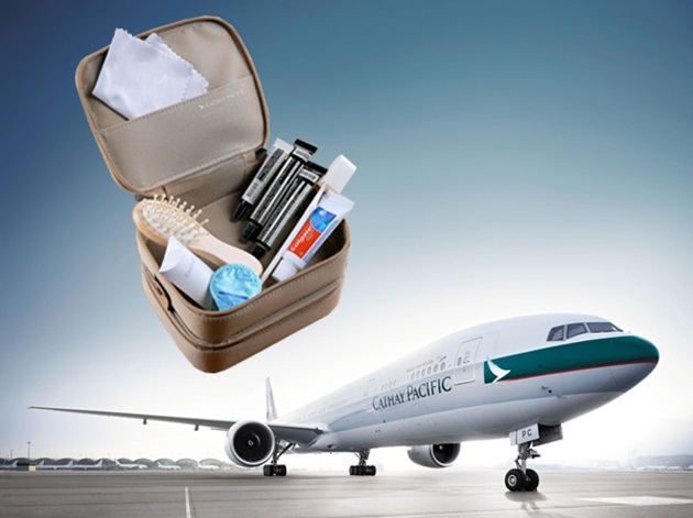 Cathay Pacific Airways' New Amenity Kits for Passengers