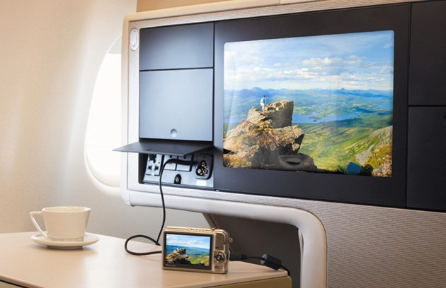 All Nippon Airways' New Inflight Entertainment System