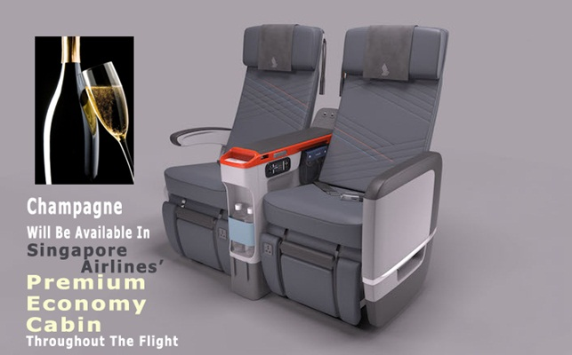 Singapore Airlines' Premium Economy Seat is Unveiled