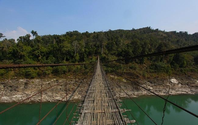 Arunachal Pradesh bridges, Northeast India places, Pangsau Pass Winter Festival