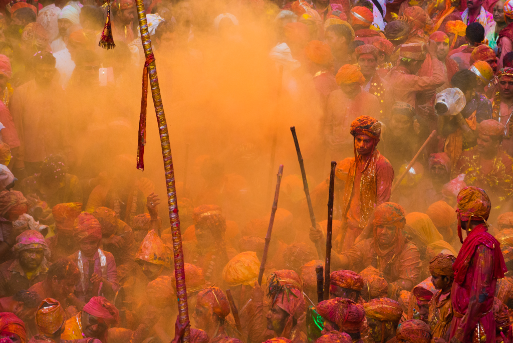 Lathmar Holi Festival: Offbeat & Most Colorful Celebration in India