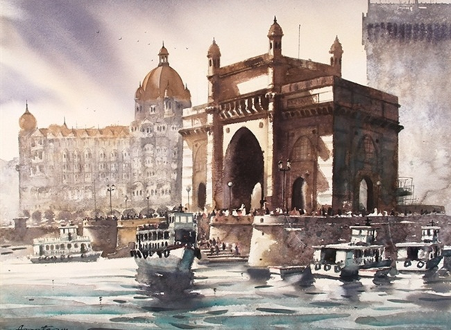 Beautiful Paintings of Heritage India will Leave You Speechless