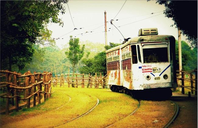 photos of Kolkata, Kolkata tram, Calcutta in old days