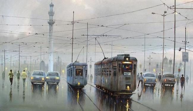 kolkata tram, british calcutta, kolkata photos