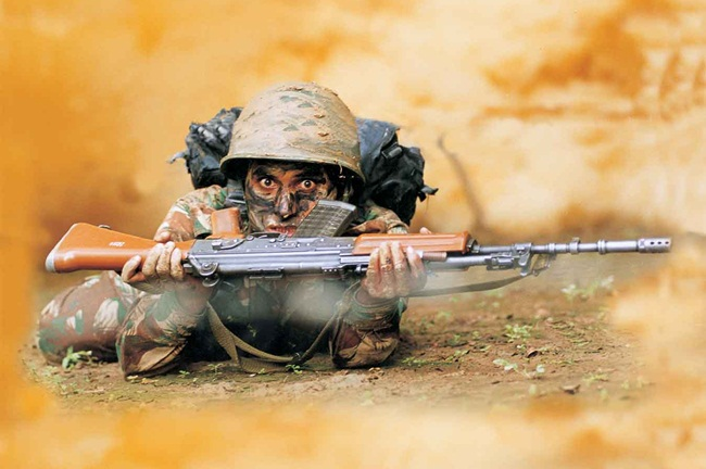 Life of Indian soldiers, Indian army at work, IndianEagle blog