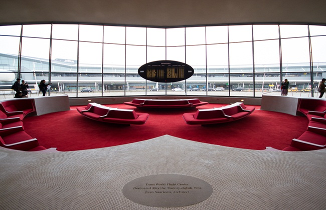 New York JFK Airport, JetBlue TWA Flight Center, Indian Eagle travel