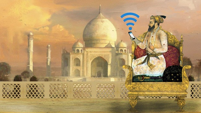 online ticketing for heritage visit, digital India, india tourism developments