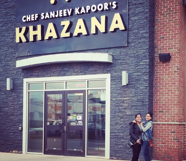 Indian restaurants in canada, chef sanjeev kapoor, khazana in Brampton, Canada restaurants, Indian food in Canada