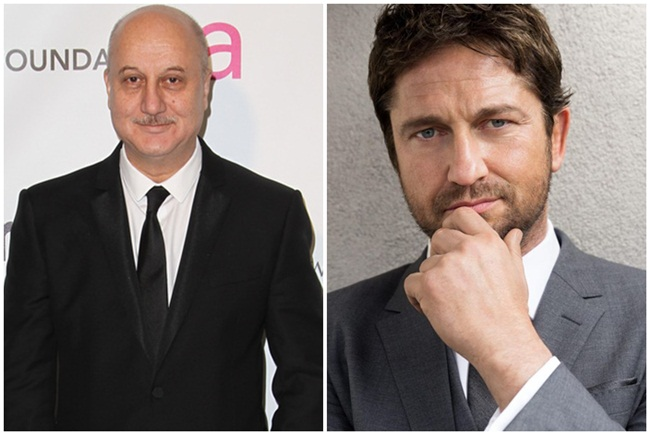Watch Actor Anupam Kher in 'The Headhunter's Calling' with Gerard Butler