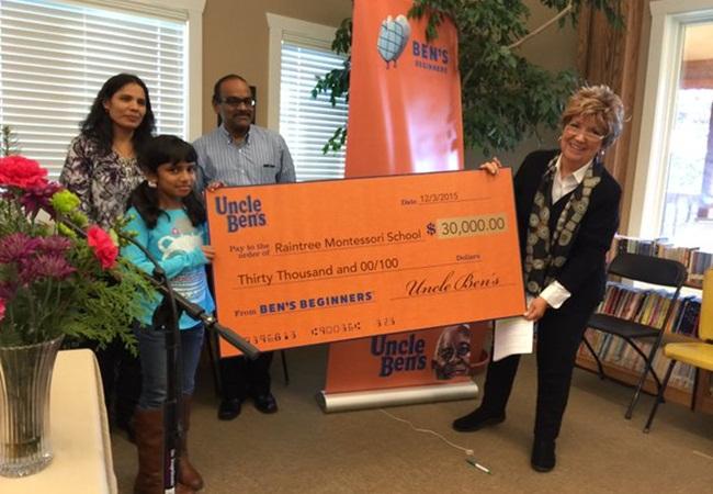 9-year Old Indian American Jasmy Mavilla's Shrimp Masala Rice Recipe Wins $45000